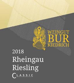 2018 Rheingau Riesling CLASSIC - Weingut Bur
